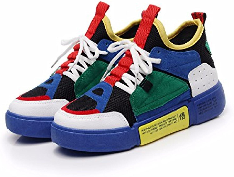 HBDLH Chaussures pour Femmes/Baskets L'Été Et L'Automne des Chaussures BleuB07FLXQQ58Parent De Femme en BleuB07FLXQQ58Parent Chaussures 5ea8a9