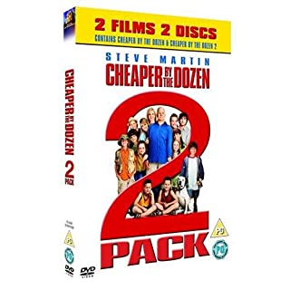 Cheaper By The Dozen/Cheaper By The Dozen 2 [DVD]