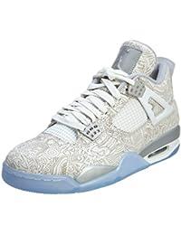 Nike Air Jordan 4 Retro Laser Zapatillas de deporte exterior, Hombre