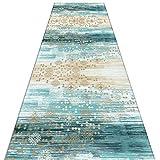 QiangDa Läufer Flur Teppich Sanfte Berührung Gang Polyester Nicht Skid Gute Qualität, 2 Stile, Mehrere Größen, Anpassbare (Farbe : B, größe : 0.8 x 3m)