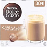 Nescafe Dolce Gusto Cafe Au Lait Coffee Pods 30 Capsules - Pack of 3 (Total 90 Capsules)