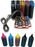 Prestige Cartridge CISS PGI-5 CLI-8 System Komplett mit 5 x 100ml Nachfülltinte für Canon Pixma MP500, MP530, MP600, MP600R, MP610, MP800, MP800R, MP810, MP830, MP950, MP960, MP970, iP4200, iP4300, iP4500, iP5100, iP5200, iP5200R, iP5300 Drucker
