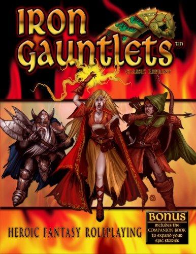 Iron Gauntlets Classic Reprint