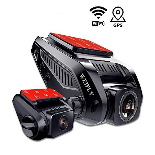 WEIFLY Dash Cam-Auto-Kamera 2160p, Weitwinkelobjektiv 170 Grad,