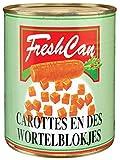 Produkt-Bild: FreshCan - Karotten gewürfelt - 530/850g