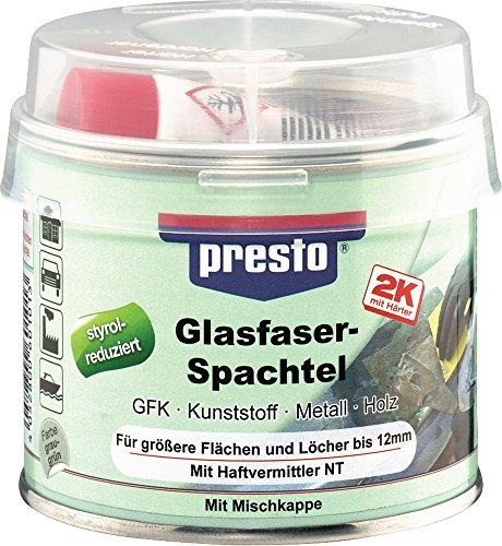 Preisvergleich Produktbild Glasfaserspachtel 250 g, grau-grün