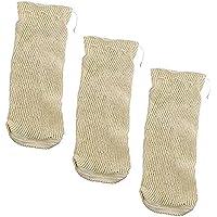 GF Kitchen - Malla Textil de Cocción - Bolsa para Legumbres - 2 Kg - Set de 3