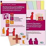 Die Bewerbung und der Eignungstest / Einstellungstest zur Ausbildung zum Bankkaufmann und Kaufmann für Versicherungen und Finanzen: Geeignet für alle ... Berufe im Finanzdienstleistungssektor