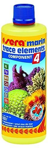 sera 03425 marin Component 4 trace elem. Kationics 500 ml - Liefert wichtige Spurenelemente für den täglichen Bedarf