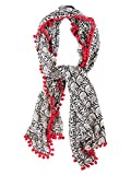 Chumbak Owl Party Pom Pom Scarf