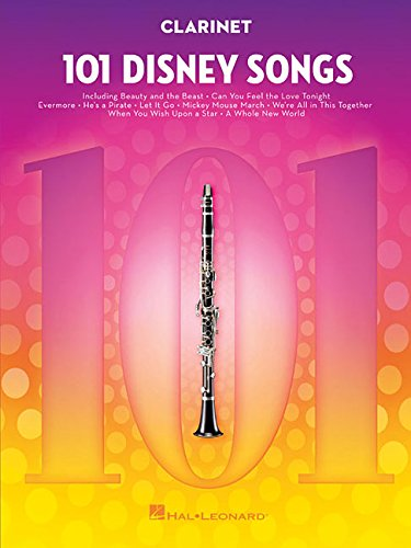 101 Disney Songs: For Clarinet