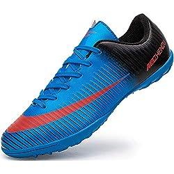 Ikeyo Chaussures de Football Homme Profession Athlétisme Entrainement Chaussures de Sport Adolescents en Plein Air Unsisexe