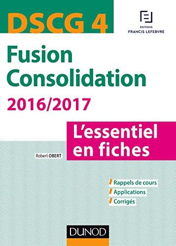 En ligne DSCG 4 - Fusion Consolidation 2016/2017 - 5e éd (Express DSCG) pdf