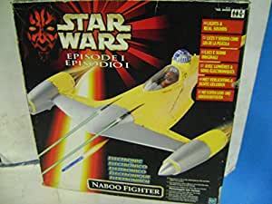 STAR WARS NABOO FIGHTER ELECTRONIC HASBRO