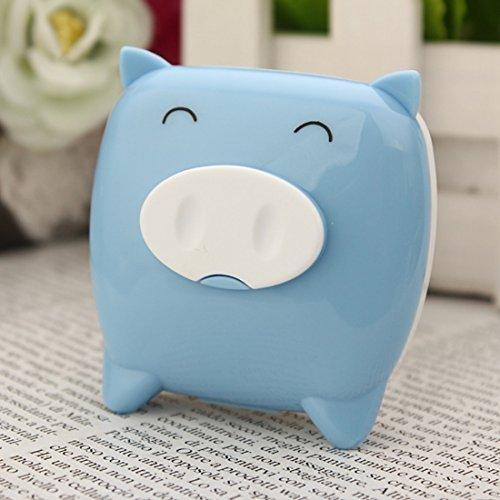 1PC Nette Piggy geformte Kontaktlinse Container Fall Kontaktlinsen schützen Pflege Box Spiegepinzette Stick Flaschenhalter Boxen Set