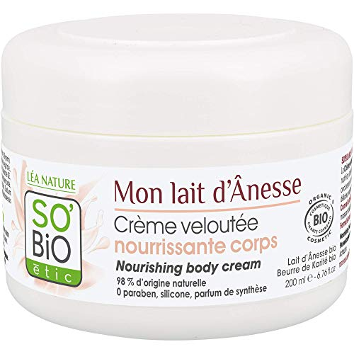 Scheda dettagliata So'Bio Étic, Mon lait d'Ânesse, Crema viso e corpo vellutante e nutriente, 200 ml