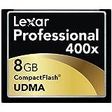 Lexar LCF8GBCTBEU400 Professional UDMA 8GB Compact Flash Karte schwarz/gold