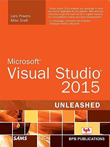 MS Visual Studio 2015 Unleashed