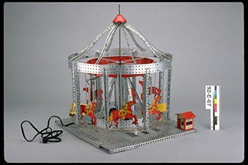 434072 Erector Set Carousel A4 Photo Poster Print 10x8