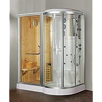 Box doccia idromassaggio Finska con sauna e