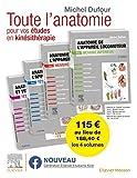 Anatomie de l'appareil locomoteur. Anatomie des organes et des viscères. Pack des 4 tomes: Anat Organes&Visceres...