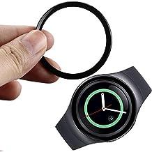 Para Samsung Gear S2 SM-R720, Sannysis Reloj Marco de metal, Watch Metal Frame (Negro)