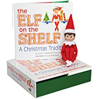 Elf On The Shelf A Christmas Tradition (blue-eyed girl)