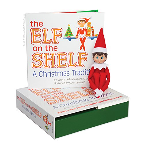Elf on the Shelf: A Christmas Tradition (blue-eyed girl scout elf) (Girl Scouts)