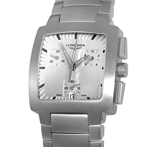 Watch Longines Oposition L31284726 Quartz (Rechargeable) quandrante Steel Silver Steel Strap