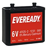 Energizer 614076 - Batterie 6V - Eveready NR825