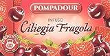Pompadour - Ciliegia Fragola, Mix alla Frutta per Infuso - 20 filtri - [confezione da 3]
