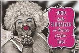Undercover Lustige Sprüche Geburtstagskarte Klappkarte 004D 1000 dicke Schmatzer zu deinem grossen Tag!