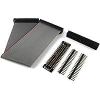 RPi GPIO Cobbler Placa breakout con cable de cinta de 20 cm y 40 polos, para Raspberry Pi Zero/2B/B+/A+ (sin montar)