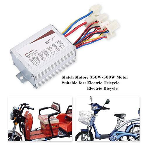 Zunate Motor Controller, Brushed Motor Speed Controller Elektrische Speed   Controller Box Brushed Motor,Gute Wärmeableitung, sicher,hohe Effizienz,Für Elektrofahrräder, Autos, Roller,24V 500W