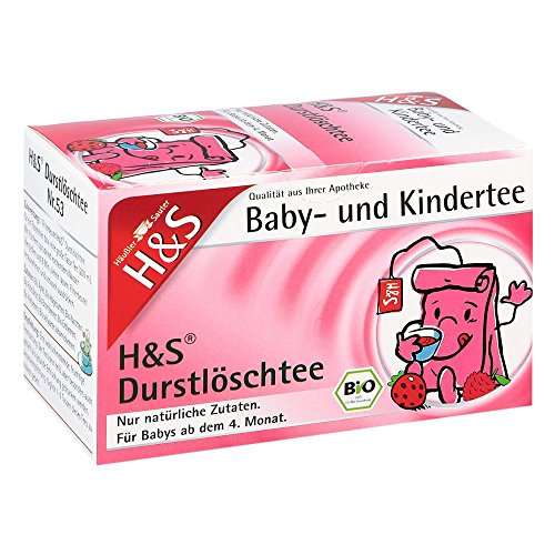 H&S Bio Durstlöschtee Baby- u.Kindertee Filterbtl. 20 St
