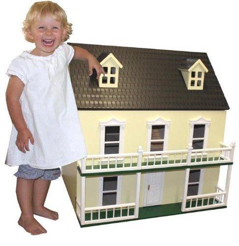 Dolls House Wooden City Villa