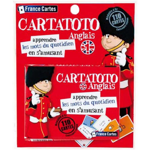 Cartatoto - Apprendre l'anglais - Jeu Educatif