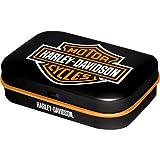 Nostalgic-Art - Harley-Davidson Logo - Pillendose - 4x6x1