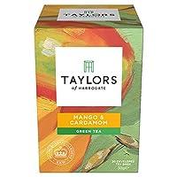 Taylors of Harrogate Mango & Cardamom Green Tea, 20 Teabags (Pack of 3)