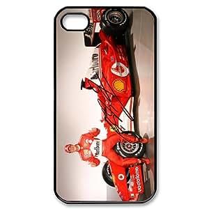 Design FIA Formula 1 World Championship Michael Schumacher APPLE iPhone 4 4S Best Durable Case