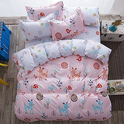 42018NEU veröffentlicht Betten-Bettlaken-Set Bettbezug (ohne Tröster invloved) Kissen Twin Full Queen Size