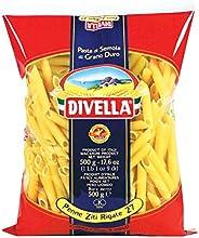 DIVELLA Penne Ziti Rigate - 500 g