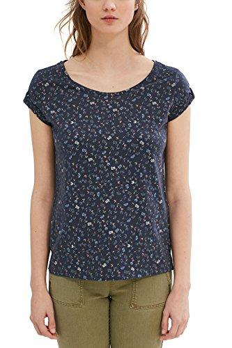 edc by Esprit T-Shirt Donna Multicolore (Dark Blue)