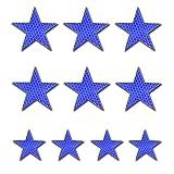 Reflektor band reflektor streifen,reflektor-aufkleber,blau,10pcs 60 x 60 mm,reflektierende verkehr warnung band