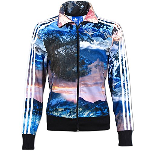 adidas Originals Damen Jacke Mountain Clash Firebird TT Jacket Multi-color-jacke
