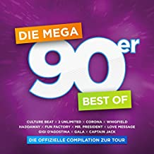 Die Mega 90er - Best Of - Offizielle Compilation Z.Tour