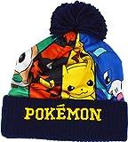 laylawson Bonnet d'hiver Pokemon Pikachu (2-8 Ans, Bleu)