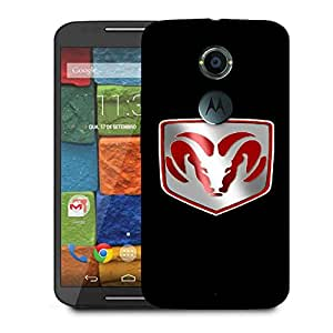 Snoogg Bulls Designer Protective Back Case Cover For Motorola Moto X2