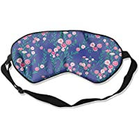 Sleep Eye Mask Floral Flowers Lightweight Soft Blindfold Adjustable Head Strap Eyeshade Travel Eyepatch E15 preisvergleich bei billige-tabletten.eu