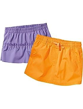 LUPILU® 2 Kinder Mädchen Shorts / Röcke